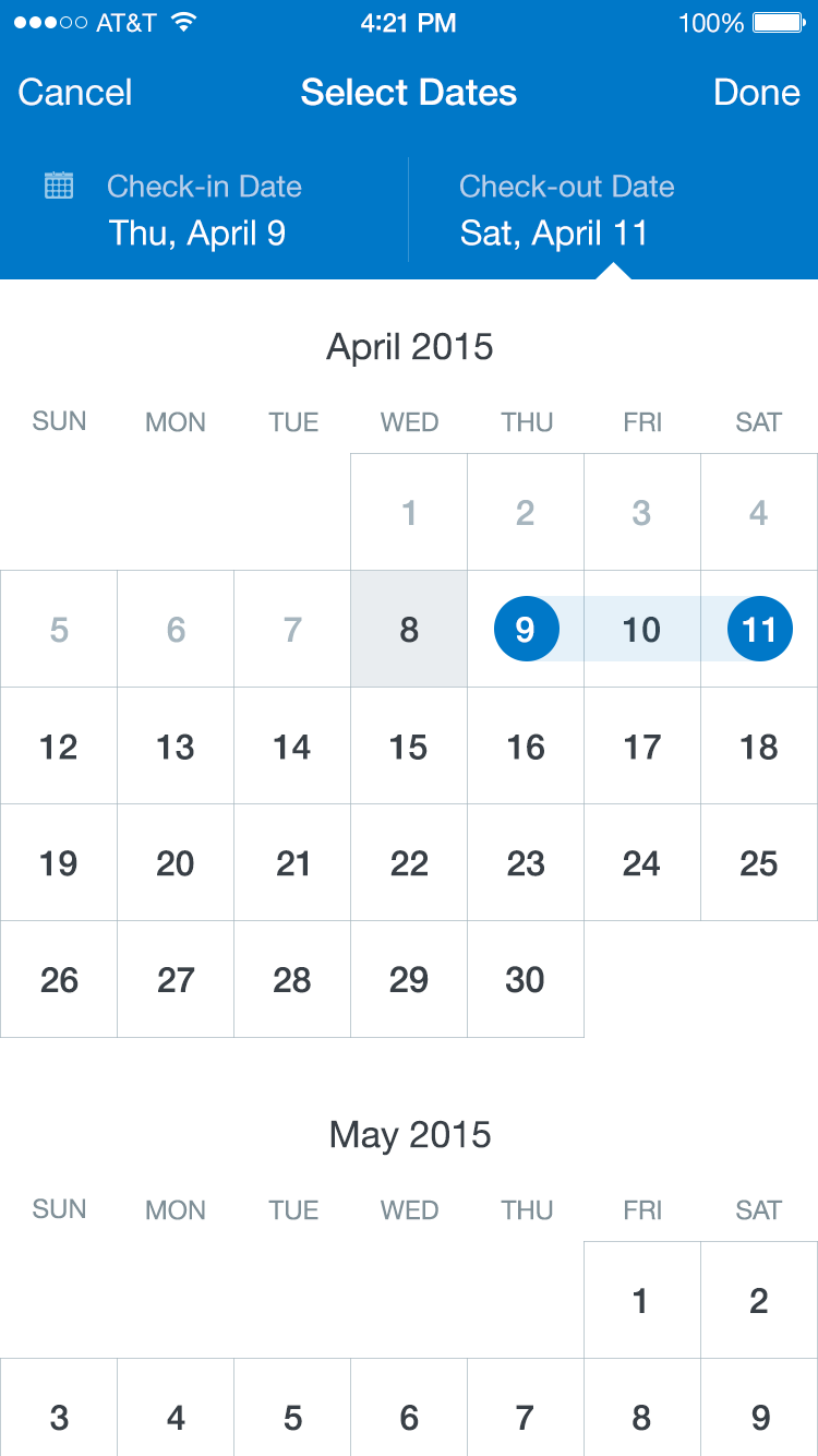 HIG: Date Picker